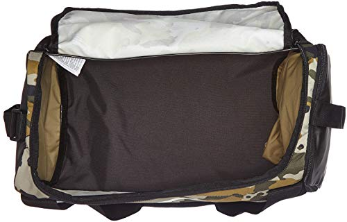Nike NK BRSLA S Duff-AOP Bolsa de Gimnasio, Adultos Unisex, Neutral Olive/Black/White, One Size: Amazon.es: Deportes y aire libre