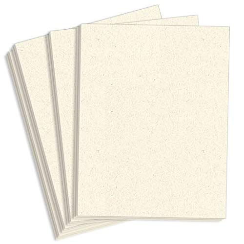 - Royal Sundance Natural Fiber Cardstock - 8 1/2 x 11, 80lb Cover, 2000 Pack
