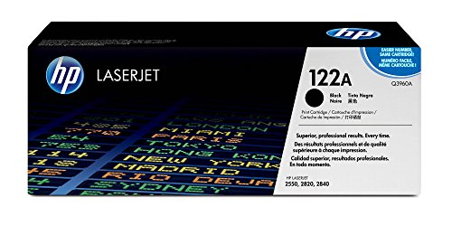 HP 122A (Q3960A) Black Original Laserjet Toner Cartridge by HP (Image #2)