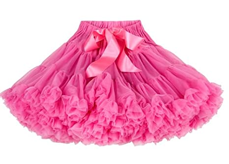 3ee12110cc Childrens BUBBLE GUM PINK Pettiskirt/ tutu 1-2 Years: Amazon.co.uk: Clothing