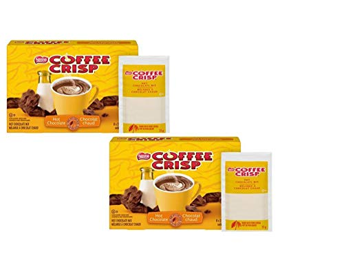 Nestle Coffee Crisp Hot Chocolate Mix - single serve pouches - 2 pack