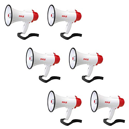 Pyle Pro Handheld Megaphone Bull Horn with Siren and Voice R