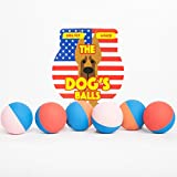 The Dog's Rubber Balls - Premium Bouncy Rubber Dog Balls - 3 Sizes - Quality Dog Toy for Fetch - Puppy Training - Exercise & Play