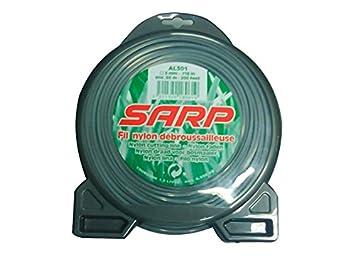 Sarp Hilo Cuadrado c/dispensador 3,00 x 60 MT: Amazon.es: Jardín