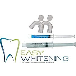 Easy Smile- Kit Tooth Whitening - 10 Cc Peroxide Carbamide 35% +Remineralization Gel 3cc +2 Trays