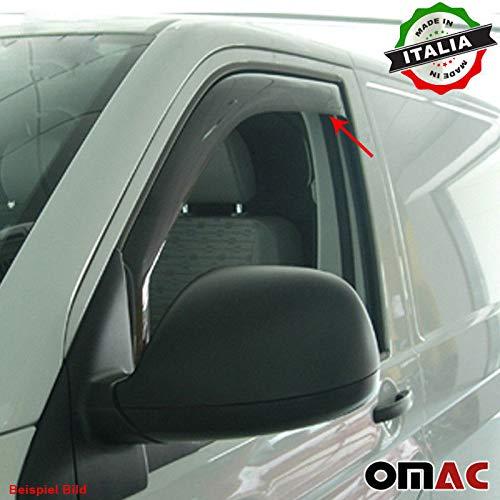 RENAULT TRAFIC III Deflettori D' aria Deflettore pioggia 2 TRG anteriore Abe AB 2014 Omac GmbH