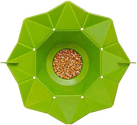 Silicona Microondas palomitas de ma/íz palomitas de ma/íz hechas en casa deliciosas palomitas de ma/íz cuenco para hornear herramientas de cocina Bakingwares bricolaje Cubo de silicona fabricante de las