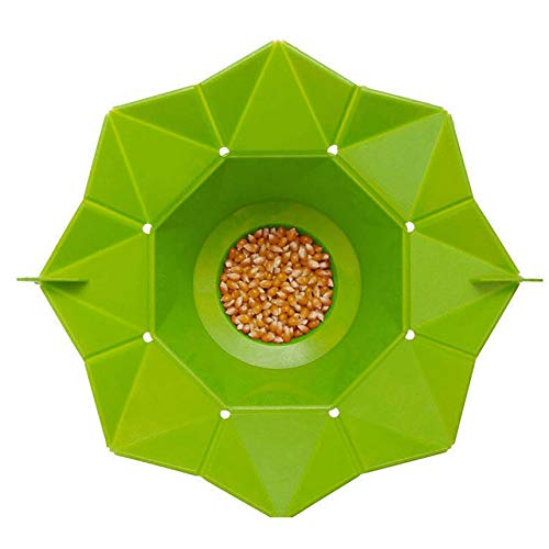 Silicone Microwave Popcorn Maker Popcorn Popper fatta in casa Delicious popcorn ciotola di cottura utensili da cucina fai da te Bakingwares benna silicone Microwave Popcorn Maker Popcorn Popper fatta