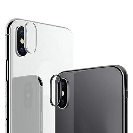 iPhone 7Plus// 8Plus Oro Rosa Carcasa Protectora para c/ámara Trasera Metal Aubess For iPhone X 7 8 Plus