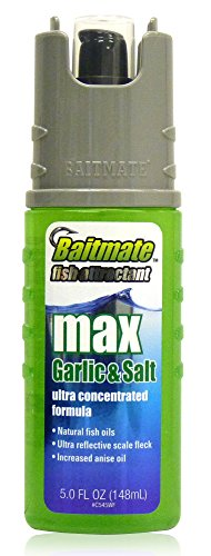 Baitmate Max Garlic with Salt Scent Fish Attractant, 5 Fluid-Ounce Bang Fish
