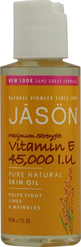 JASON Vitamin E 45,000 IU Maximum Strength Oil, 2 Ounce