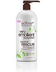 Alba Botanica Very Emollient Body Lotion - Coconut Rescue...