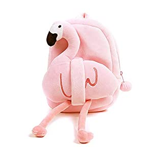 Jiada Flamingo Kids Backpack Soft...