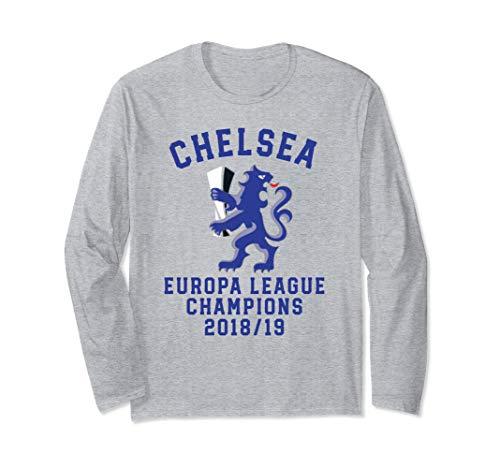 Chelsea Soccer Jersey Europa Champions Blues Gift Long Sleeve ()