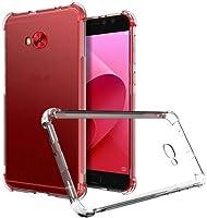 Capa Anti Shock para Asus Zenfone 4 Selfie, Cell Case, Capa Anti-Impacto, Transparente