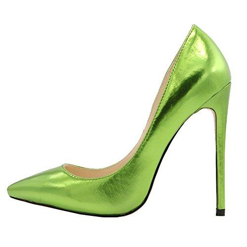 MERUMOTE , Bout pointu femme - vert - vert, 43