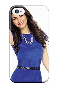 Premium Durable Victoria Justice Fashion Tpu Iphone 4/4s Protective Case Cover