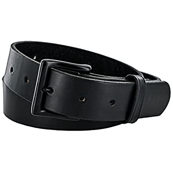 - 414OkR391yL - Hanks Everyday – No Break Thick Leather Belt – Mens Heavy Duty Belts- USA Made -100 Year Warranty