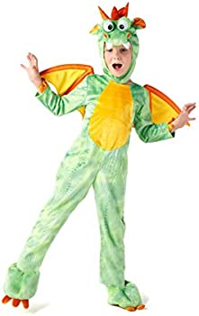 Spooktacular Creations Deluxe Dragon Costume Set with Toys for Role Play Pret...
