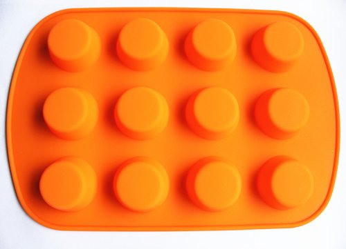 12-Holes-Silicone-Cake-Mold-Baking-mold-Ice-Tray
