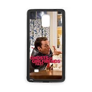 Ghosts Of Girlfriends Past 9 funda Samsung Galaxy Note 4 caja funda del teléfono celular del teléfono celular negro cubierta de la caja funda EEECBCAAJ10932