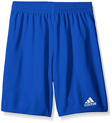 (adidas Youth Parma 16 Shorts, Bold Blue/White, Medium)