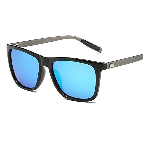 sol polarizado gafas color de hombre de aluminio gafas sol sol brillante de de moda Aoligei A magnesio Dama gafas pWH66S
