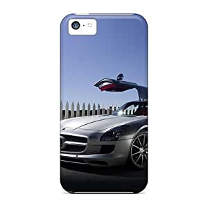 Awesome Case Cover/iPhone 5 5s Defender Case Cover(2011 Mercedes Benz Sls Amg 17)
