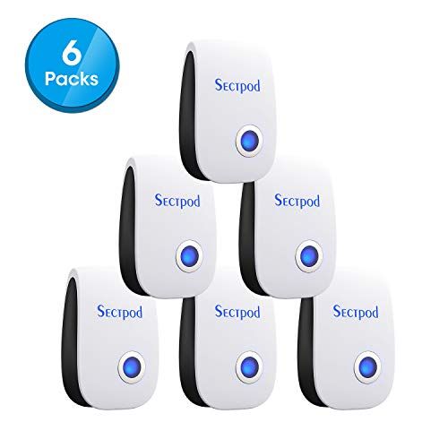 Sectpod Upgraded Ultrasonic Pest Repeller Plug in for Insects Mice Ant Mosquito Spider Rodent Roach, Good Repellent