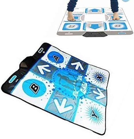 Wii用ダンスマットHDあしあとステップボディービルダンスパッド毛布ゲーミングフィットネスUSBホーム革命マットビデオアーケードアンチスリップ ダブル子供用ダンスブランケット