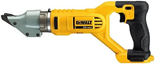 DEWALT 20V MAX Metal Shear, Swivel Head, Double Cut, 14GA, Tool Only DCS494B