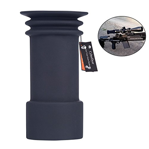 CyberDyer Hunting Scope Accessories 38mm to 40mm Soft Rubber