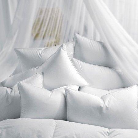 100% Down-like Microdenier Gel-fiber Sleeping Pillows, Set of 2