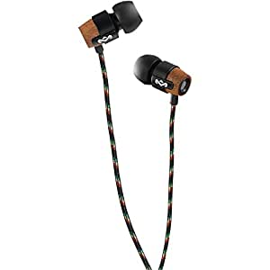 House of Marley EM-FE003-MI Redemption Song Midnight In-Ear Headphones with Apple Three-Button Controller