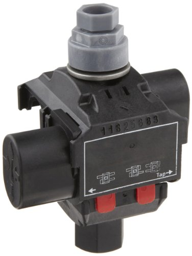 Morris Products 96106 Above Ground Insulation Piercing Connector, 1 Port, 1/0 - 8 Main Range, 2 - 10 Tap Range (0 Tap)