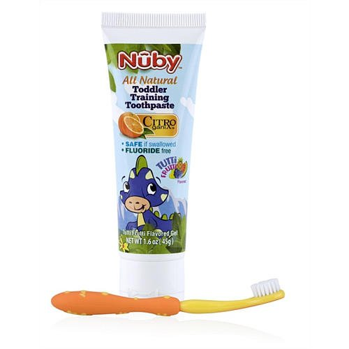nuby-toddler-training-toothpaste-toothbrush-2-ct