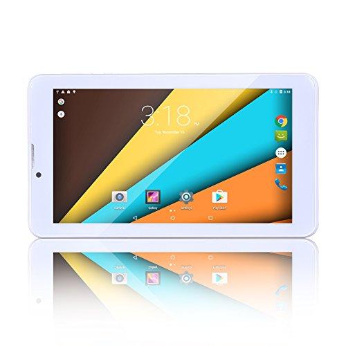Bm Tablet PC 7pulgadas 3G llamada Quad Core 8GB ROM 1Gb RAM Android 5.1Lollipop 1024x 600de Resolución, WiFi, GPS, Bluetooth plateado plata