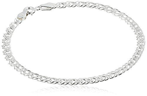 Sterling Silver Interlocking Geometric Bracelet