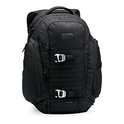 Under Armour Huey Backpack, Black/Black, One Size by Under Armour