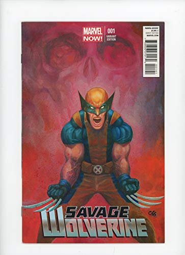 SAVAGE WOLVERINE #1 | Marvel | March 2013 | Vol 1 | Frank Cho Variant Cover 1:50