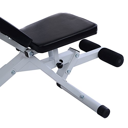 Goplus Standard Incline Sit Up Bench Flat AB Board Adjustable Workout Equipment