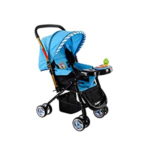 Safe-O-Kid Extra Safe Pram/Stroller (0-4...