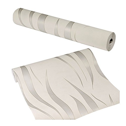 starwer-durable-3d-10m-wave-stripes-embossed-non-woven-flocking-wallpaper-silver