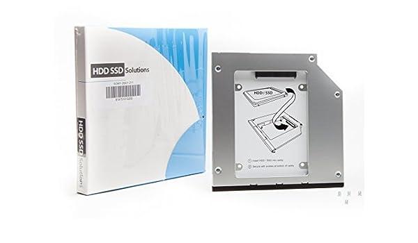 HighPerTec OptiBayHD - Equipo para instalar un segundo disco duro ...