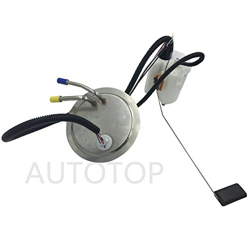 Autotop New Electric Fuel Pump Module Assembly Fit 1999 2004 Ford F 250 F 350 Super Duty E2245m