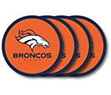 Denver Broncos Coaster Set - 4 Pack