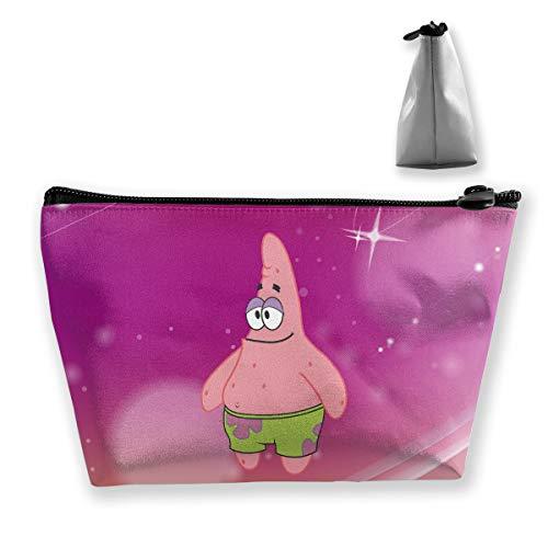 - PSnsnX Cosmetic Bags Spongebob Squarepants Patrick Portable Travel Makeup Pouch Toiletry Organizer