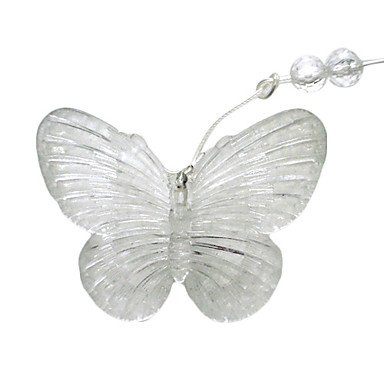 1.5M 10 Heads Purple Butterfly LED String Light (Use battery)- Christmas & Halloween Decoration