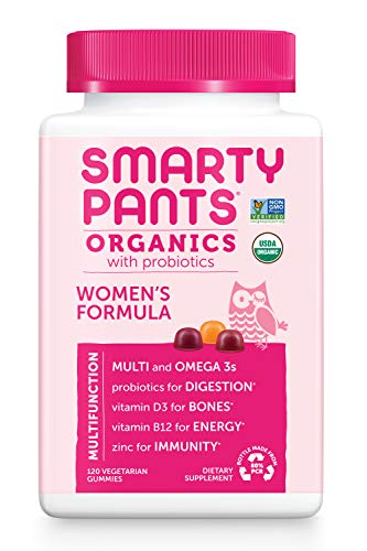 Smarty Pants Daily Organic Gummy Women's Multivitamin