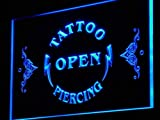 ADVPRO j142-b Tattoo Piercing Open Display New Neon Light Sign